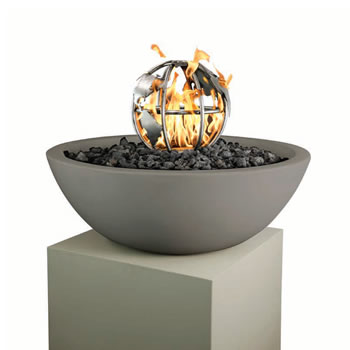 12in BURNING GLOBE-OPT-FG12