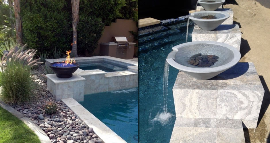 Inspired Fire FX Outdoor Fire on Water Feature
